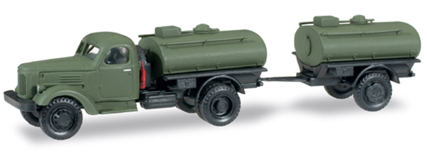 Herpa ZIL-164 military Oil Tanker , 745109