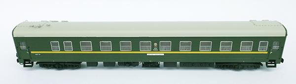 Heris Passenger car Nr 020 -11815 TsMV Ammerndorf SZD Moscow-Wünsdorf , 1 pcs , 80020-14