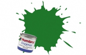 Humbrol Mid Green Satin Enamel  ,  131