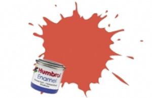 Humbrol Red Satin Enamel  ,  132