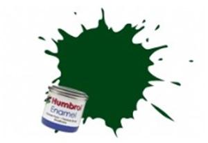 Humbrol Dark Green Enamel ,  195