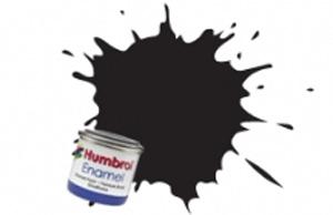 Humbrol Black Gloss Enamel  , 21