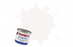 Humbrol White Gloss Enamel  , 22