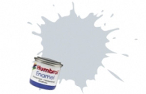 Humbrol Polished Aluminium Metalcote Enamel  , 27002
