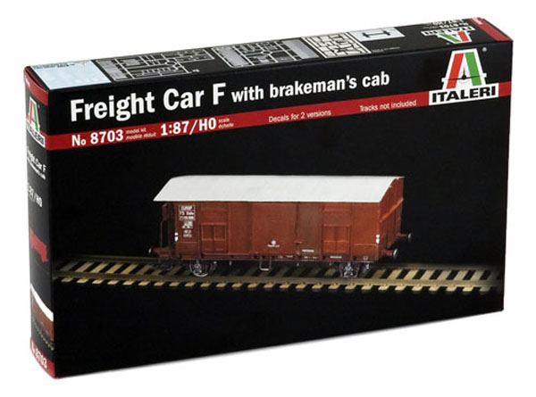 Italeri Freight Car Typ F , 8703