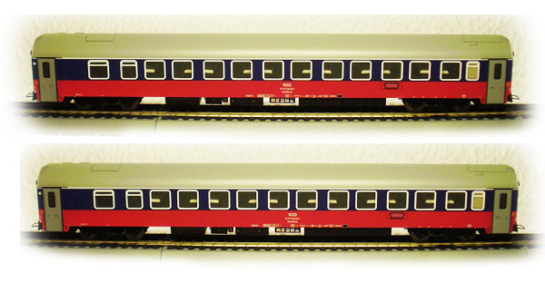 LS Models Passenger car WLABmee Set RZD 48011 – train models ...