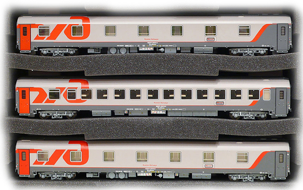 LS Models Passenger cars Set RZD Berlin-Moskow 48027