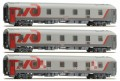 LS Models Passenger cars Set RZD Moskau-Berlin-Paris 48024