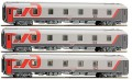 LS Models Passenger cars Set RZD Moscow-Paris 48031