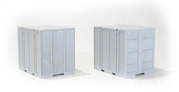 Miniaturmodelle 2-unit set Container UUК-5  , 000101