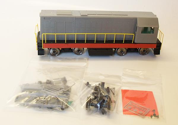 MTB Diesel ChME2 SZhD non-painted , 45001