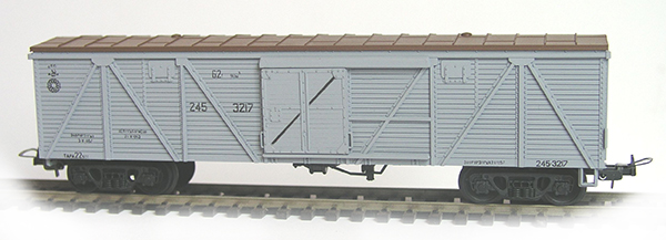 Konka Box car  62 t, 90 m3 Nr 245-3217 , 20280