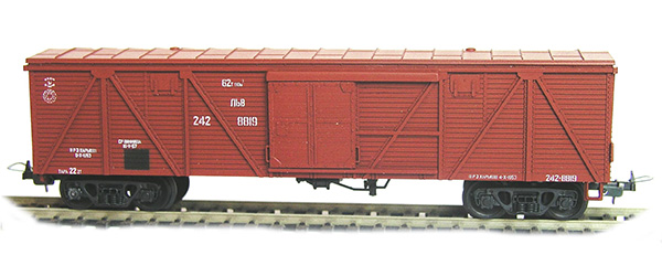 Konka Box car  62 t, 90 m3 Nr 242-8819 , 20286