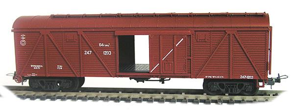 Konka Box car  64 t, 106 m3 Nr 247-1203 , 30260