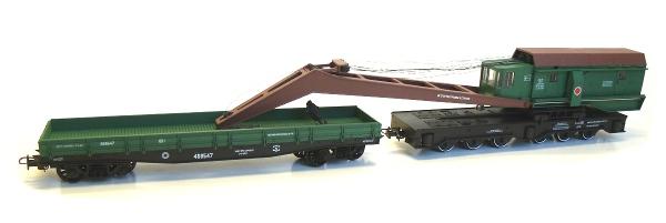 Netuzhilov Crane wagon EDK-25 , 12355