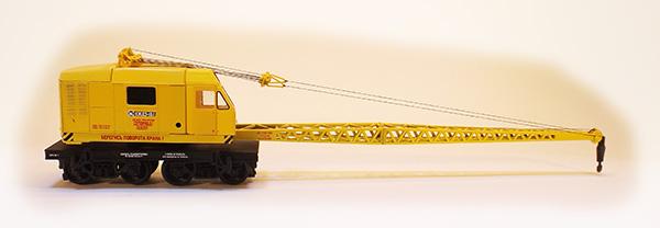 Netuzhilov Crane wagon KDE-161 yellow , 12381