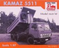 RTM Tipper KAMAZ-5511 , 87003