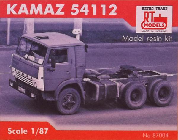 RTM Rigid tractor KAMAZ-55112 , 87004