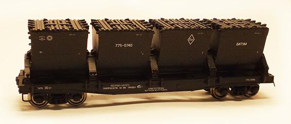Modela Bitumen car Typ 17-494 , 87005-01