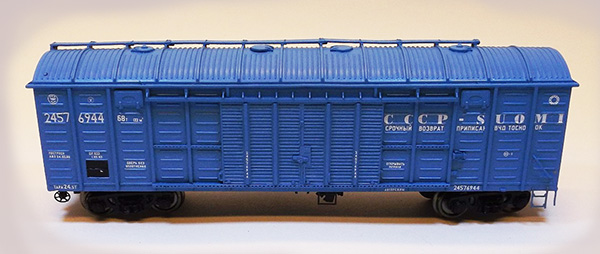 Modela Box car Typ 11-270 Baltika , 87011-11