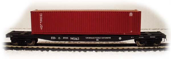 Modela Car for container with load Typ 13- 470 , 87025-02
