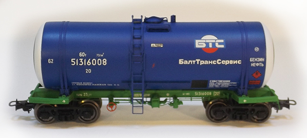 Onega Tank car 15-1443 'BaltTransServis'  , 1443-0002