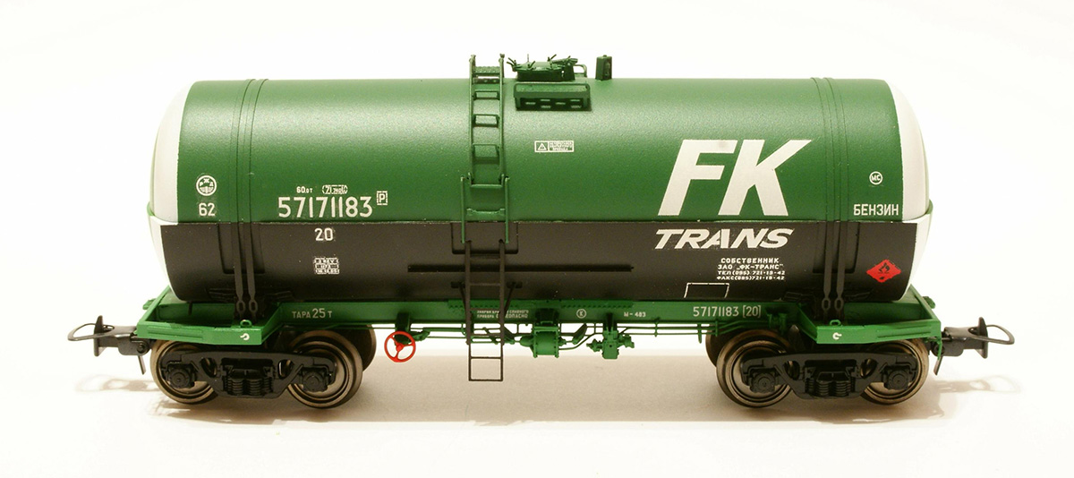 Onega Tank car 15-1443-02 'Fuel oil'  , 1443-0201
