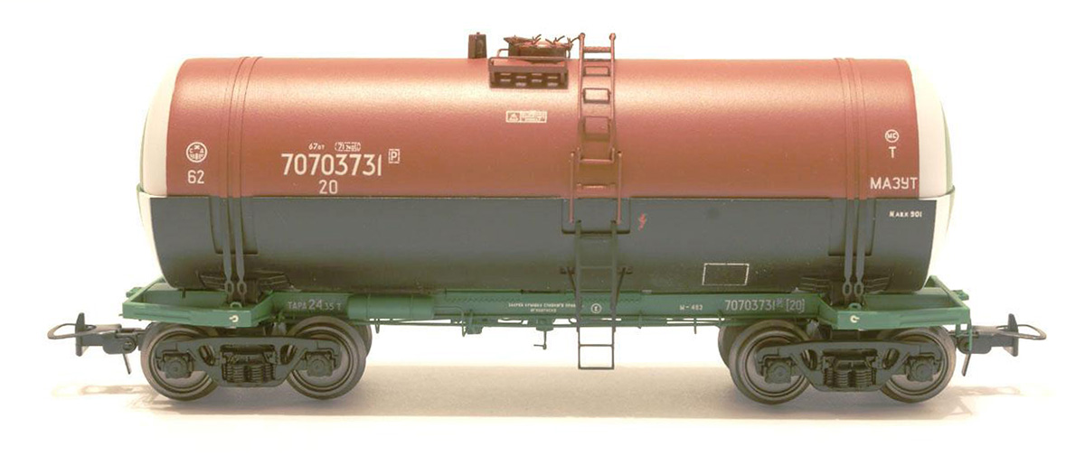 Onega Tank car 15-1443-02 'Fuel oil'  , 1443-0202