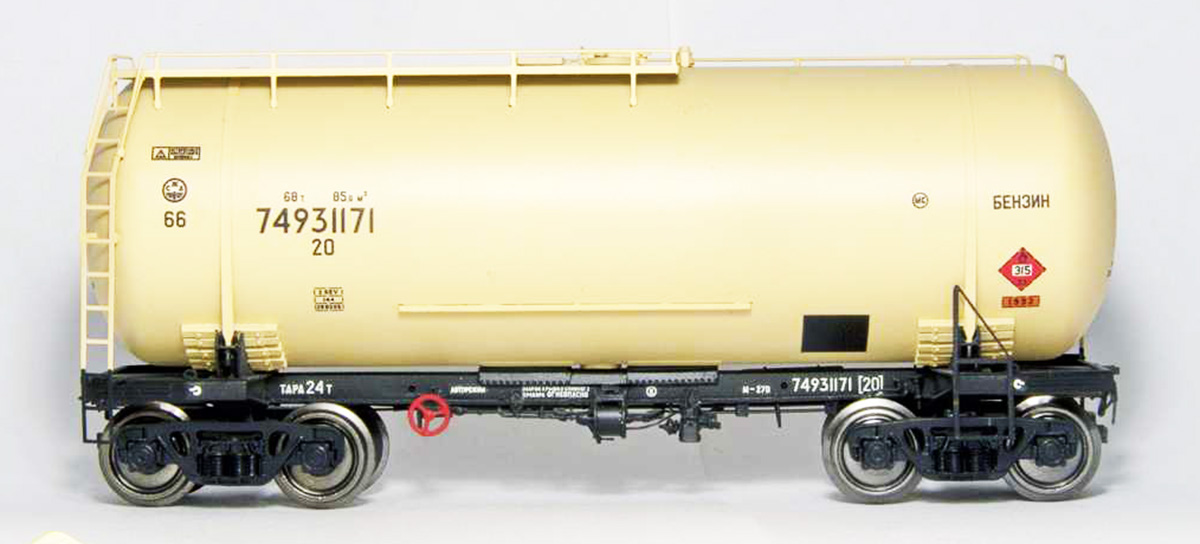 Onega Tank car 15-1447 'Gasoline'  , 1447-0001