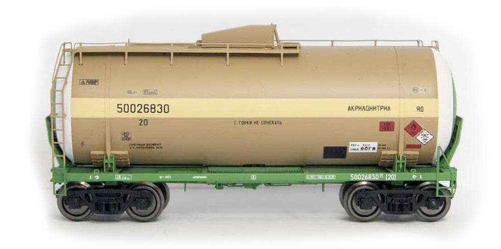 Onega Tank car 15-1610 'Acrylonitrile'  , 1610-0201