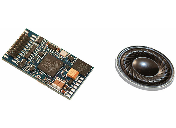 Piko DCC Sound decoder & Loud Speaker BR 130 , 56340