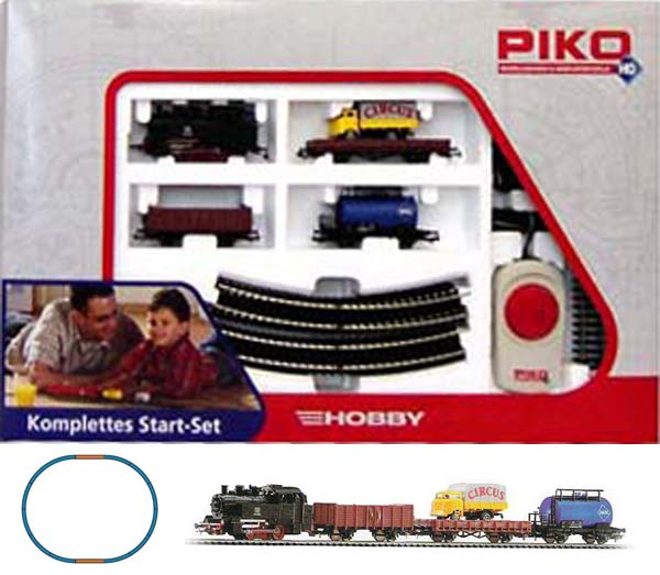 Piko Steam Freight Starter Set  , 57111