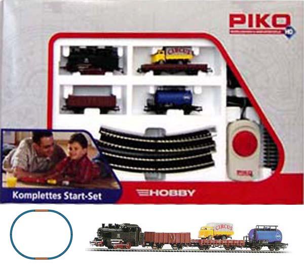 Piko Стартовый набор Грузовой поезд с паровозом  , 57111