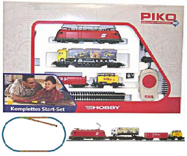 Piko Starter set Freight train,  Electriclokomotive Taurus , 57170