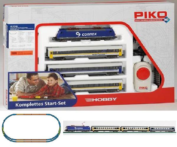 Piko Starter set Passenger train, Electriclokomotive BR 185 , 57180