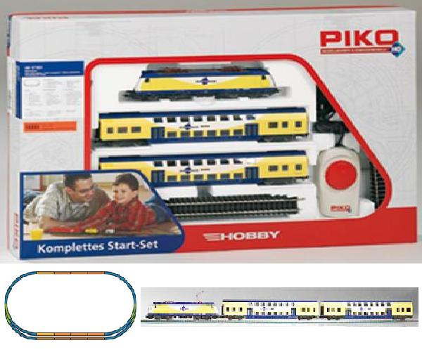 Piko Starter set Passenger train Metronom, Electriclokomotive BR ME146 , 57181