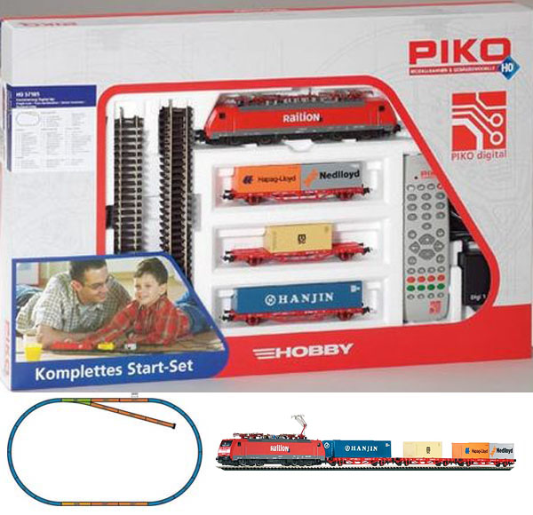 Piko Digital Starter set Freight train,  Electriclokomotive BR 189 , 57185