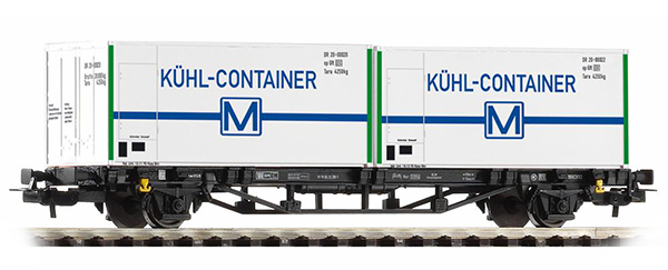 Piko Cars for container Lgs 579 with load 'KÜHL-CONTAINER' , 57796
