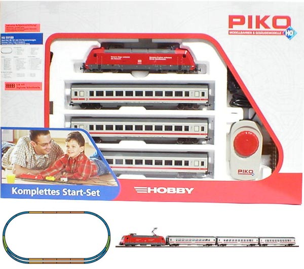 Piko Starter set Passenger train, Electriclokomotive BR 101 , 59100