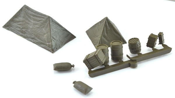 Roco-Minitanks Tents and Cargo, 05084