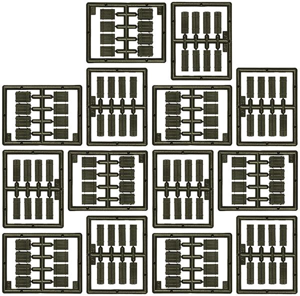 Roco-Minitanks Wooden boxes, 05168