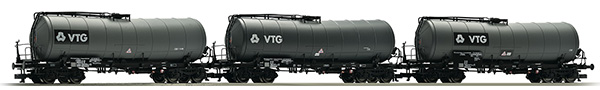 Roco Tank cars 'VTG', 3 pcs TT , 37618