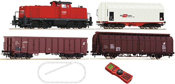 Roco Digital Starter set Diesel Engine Rh 2074 ÖBB  , 51223