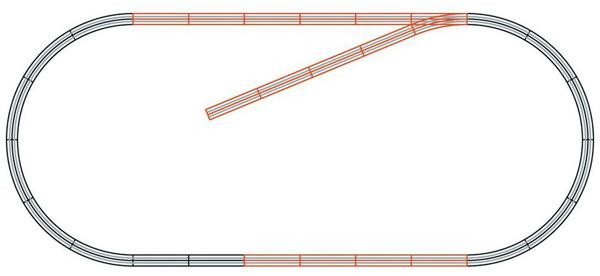 Roco Track set B geoLine , 61101