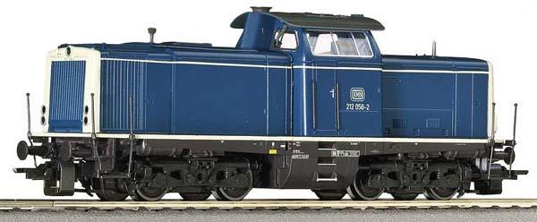 Roco Diesellokomotive BR 212 , 62827