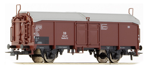 Roco Sliding wall boxcar Bauart Kmmgks , 66855