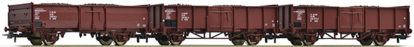 Roco Freight cars, 3 pcs , 67066