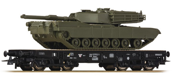 Roco Heavy lorry SSy45 with tank type M1 Abrams , 67471