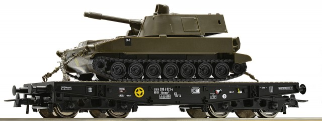 Roco Stake car  with M108 , 67475