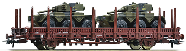Roco Heavy lorry Ks with two tanks Saladin , 67480